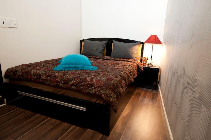 Sunny & cozy room in heart of Saigon (Room 102) - Ho Chi Minh - Dom