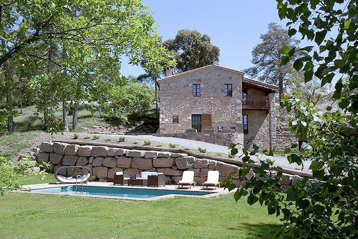 Cottage La Bauma - 1h Barcelona - Sagàs - Maison