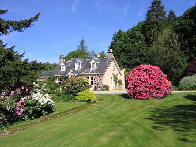 Finglen House   Haven of Traquility cream room - Campsie Glen - Bed & Breakfast