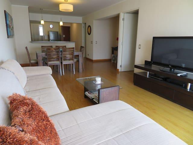Miraflores - Larcomar, fino departamento equipado - Miraflores - Apartamento