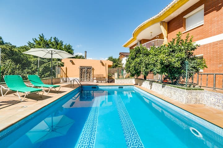 VILLA AGATHE COSTA BRAVA, POOL AND FREE WiFi - Terra Brava - Hus