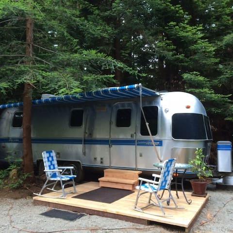 Airstream Trailer in the Redwoods - Кресент-Сити - Дом на колесах