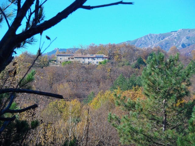 Ecological stone house in the mountains of Ardèche - Joyeuse - Appartement