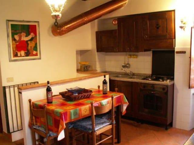 Medieval apartment in the historic  - Sarteano - Apartament