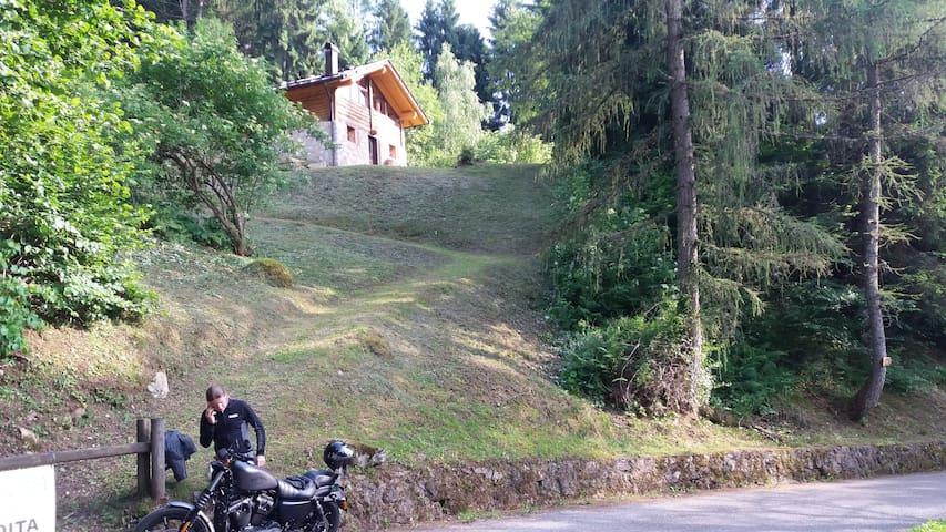 Vacanza Relax nel Parco Naturale Adamello Brenta - Spiazzo - Houten huisje