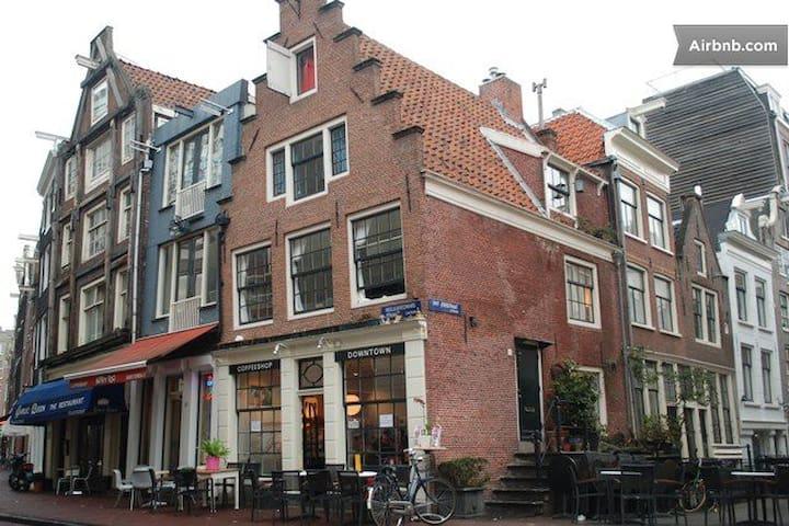 Single attic room - Amsterdam - Bed & Breakfast