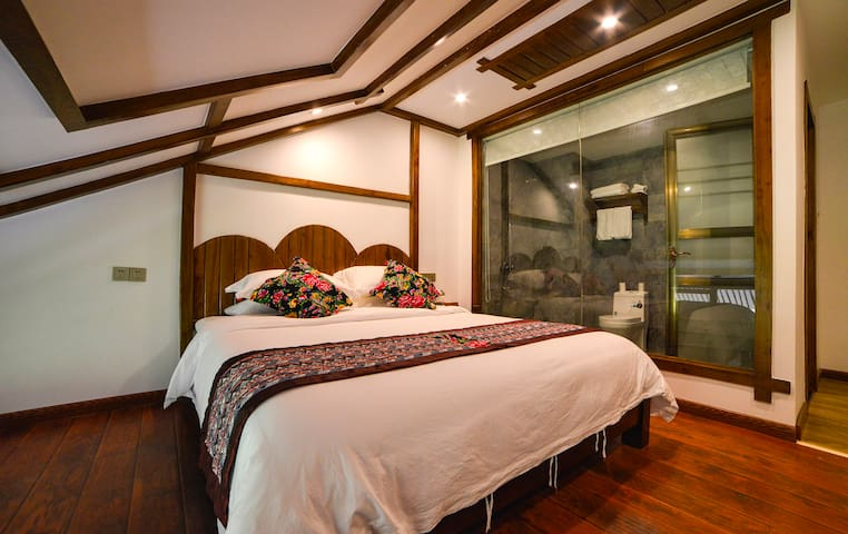 ZhangJiaJie Remembrance Inn (Queen bed Room attic) - Zhangjiajie Shi - Loft
