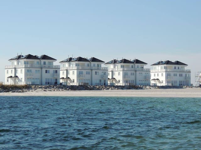 4-Zi-Ferienhaus STRAND HUS direkt am Strand - Kappeln - Ev