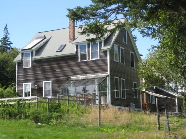Cove-Side Meadow House - Swans Island - Ev