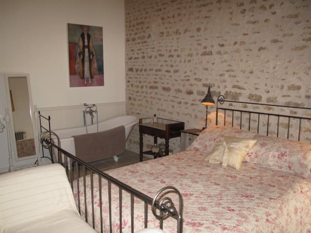 No 5 - Chambre d'hote in historic town - Richelieu