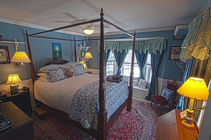 REAL B&B! Jay Peak 1BR Blue Room - Montgomery Center - Bed & Breakfast