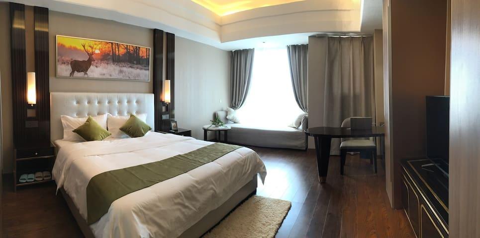 2华远国际公寓,江景房,看烟花最佳位置,房间可看见湘江,岳麓山,橘子洲 - Changsha - Condominio