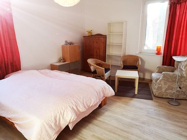 big bedroom in WG - Göttingen - Apartamento