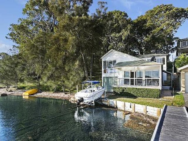 Watersedge on Lake Macquarie - Coal Point - Huis