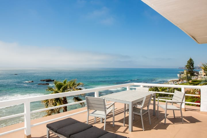 Laguna Oceanfront Studio! A+ Views! - Лагуна Бич - Квартира