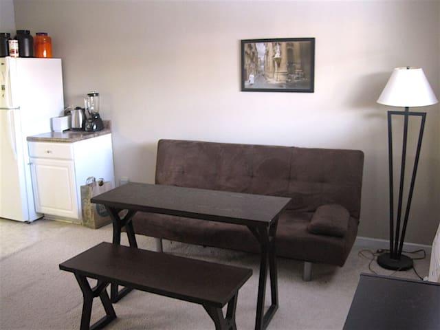 Simple, cozy 1-bedroom apartment - Durham - Huoneisto