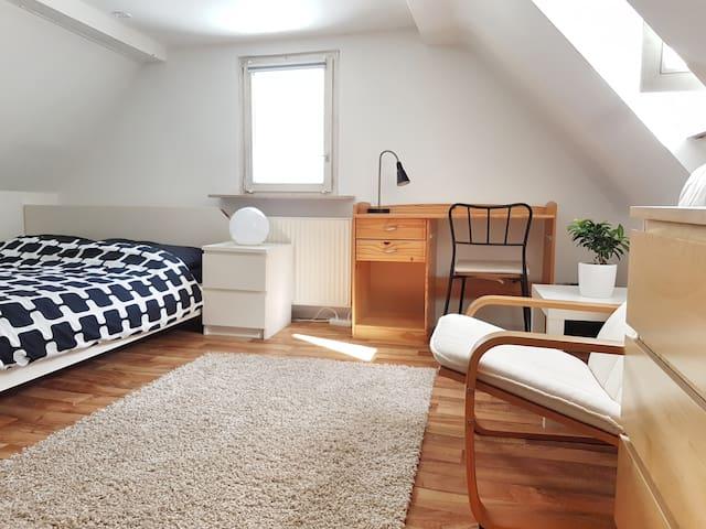 Room in Stuttgart-East. Easy access to city center - Stuttgart - Apartamento