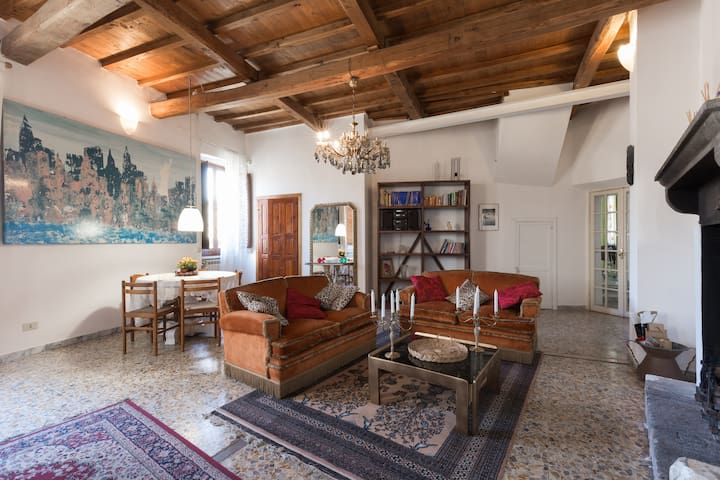 ANTICA ALCOVA charme apartament of XV century - Castelnuovo di Porto