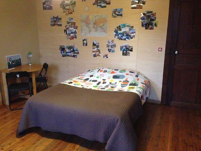 Chambre privée dans maison rénovée - Bachant - Casa