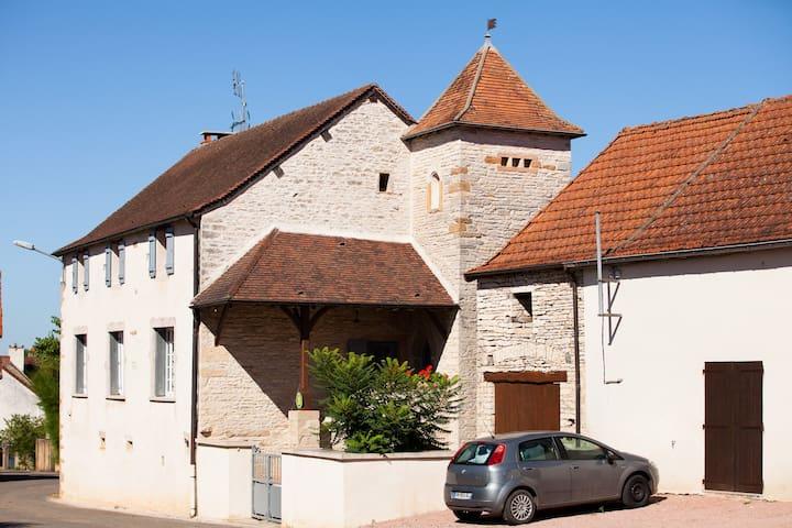 Gite à la campagne proche de Cluny - Cortevaix - Hus