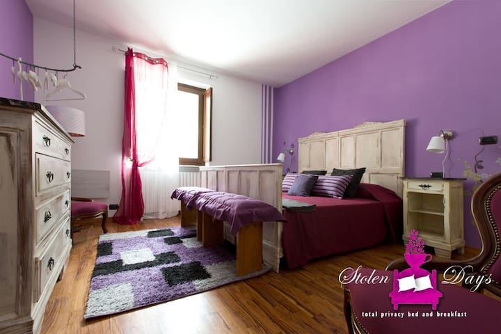 Lilla room, double room (or 1+1 beds) in B&B villa - Novaretto