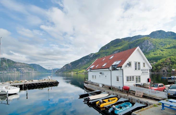 Leilighet ved Lysefjorden, Bergevik - Forsand