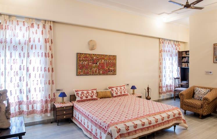 Terrace Room@Kalpana Yoga Homestay - 齋浦爾