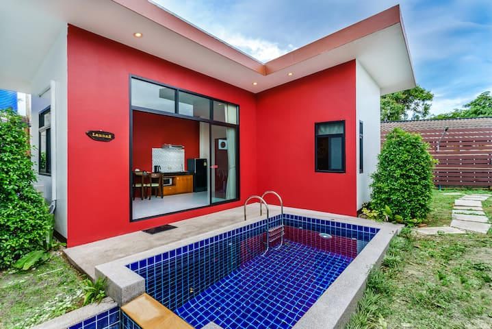 1LA#  -30%: Cozy Private Pool Villa,Comfy Bed,Wifi - Ko Samui - Villa