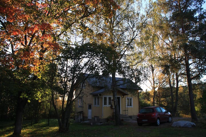Cozy house in middle of a picturesque garden - Turku - Casa