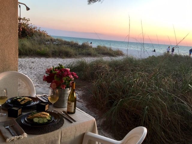 (1SC)Anna Maria Studio Beachfront Studio. Sunsets - Bradenton Beach - Wohnung