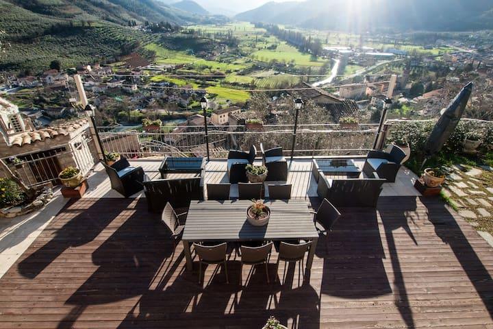 App.SMERALDO with SPA, river views - Ferentillo
