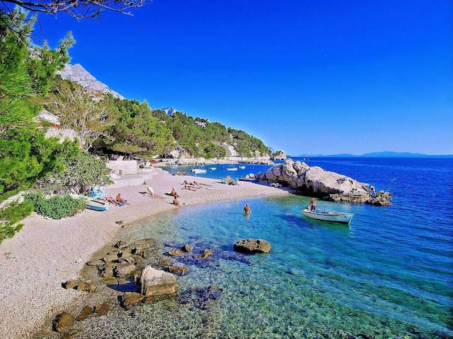 Romantic getaway 1min from sea - Brela - Casa