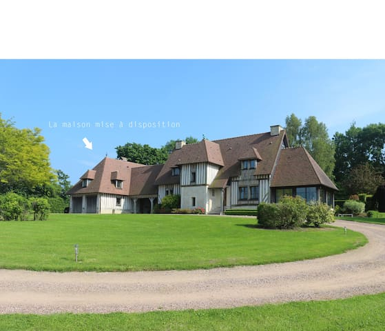 Beautiful Normandy cottage with heat swimming pool - Beaumont-en-Auge - Casa