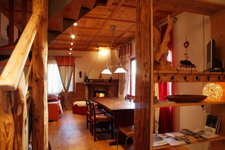 Chalet Baita Marimonti Dolomiti view - Lagolo