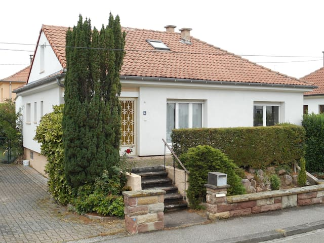 Maison individuelle au calme - Strasbourg - Ev