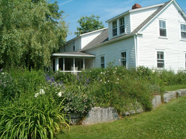 Forest Farm Maine Coastal Rental - Brooksville - Hus