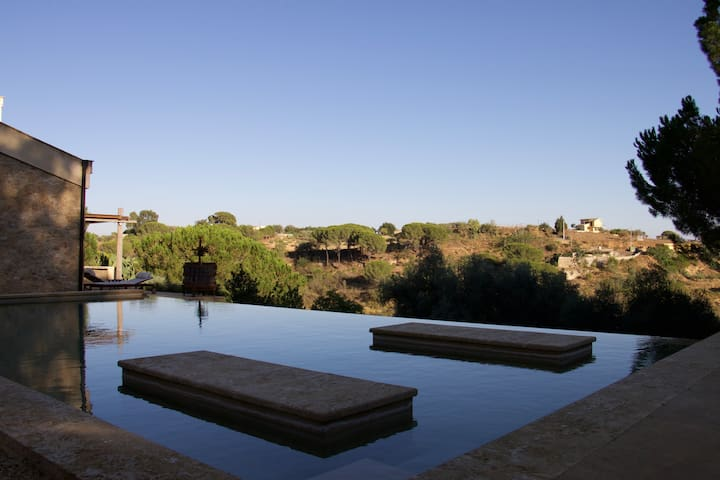 Independent suite + pool south Sicily + breakfast - Caltagirone - Lägenhet