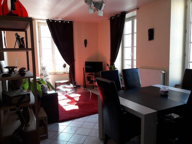 Appartement centre ville très lumineux - Fougères - Lägenhet