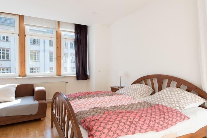 Ruhige Wohnung 10min zum Zentrum - Heidelberg - Lägenhet