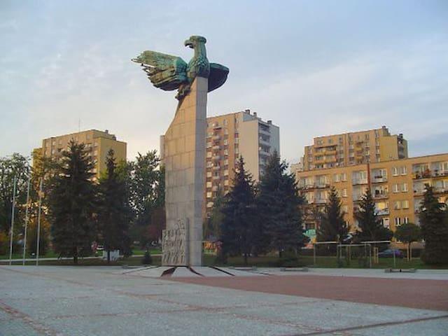 Chrzanów, duże mieszkanie na ŚDM - Chrzanów - Leilighet
