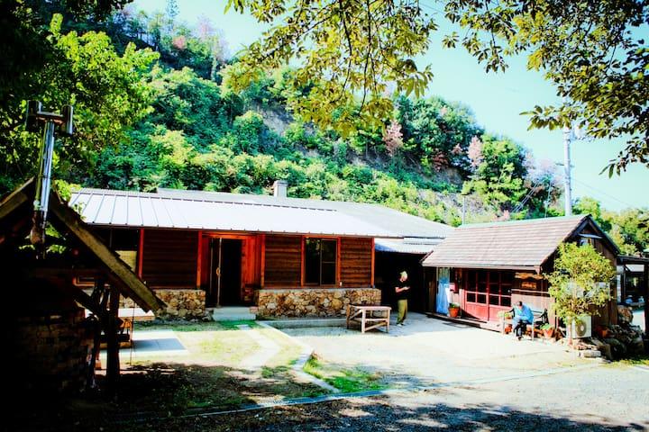 """japanese potter house """"Wasyugama""""  鷲羽窯 - Kurashiki-shi - Hus"""