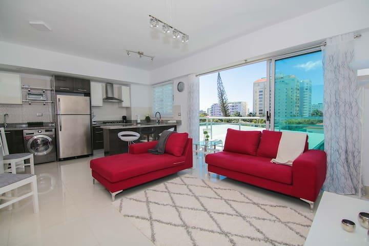 New, Modern & Cozy Luxury Condo in Santo Domingo - サントドミンゴ - アパート
