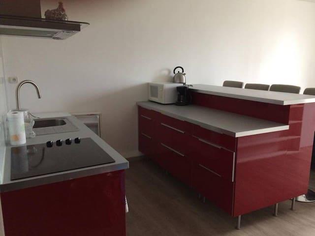 Appartement meublé de 39,76 m², centre Vernaison - Vernaison - Apartamento