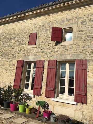 Charming home in Charente Maritime. - Saint-Genis-de-Saintonge - Casa