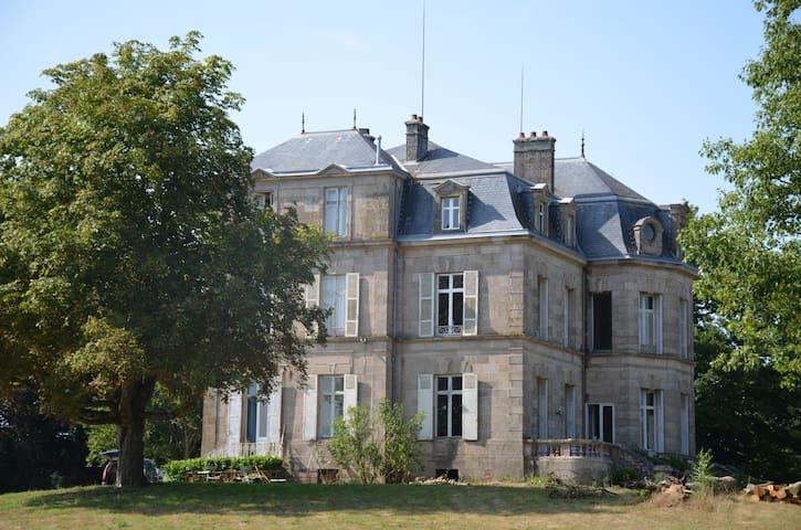 Les Villettes - Saint-Just-le-Martel - Şato