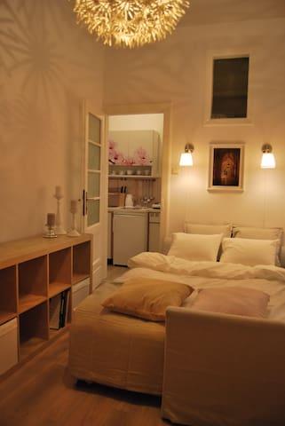 Beautiful New Studio Apt, 5-10 min. to Main Square - Cracovie - Appartement