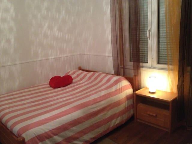 Maison avec grande chambre, plages, proche Lorient - Locmiquélic - Maison