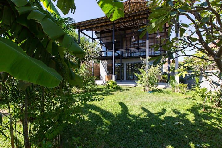 Cool Home w Garden near Sea - Hua Hin