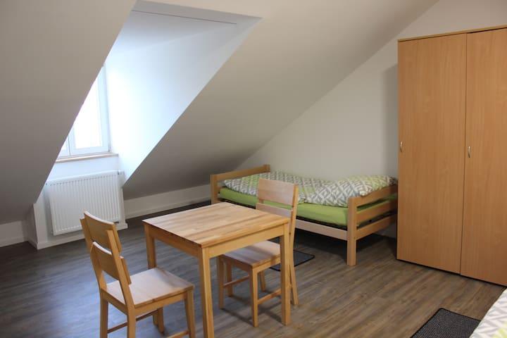 Pensionszimmer mitten in der Stadt - Landshut - Pensão (Coreia)