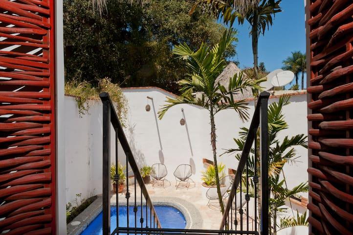 Location Bungalo-Pool & Kitchen - Sayulita